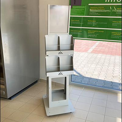 Stokrotka - stojak na gazetki